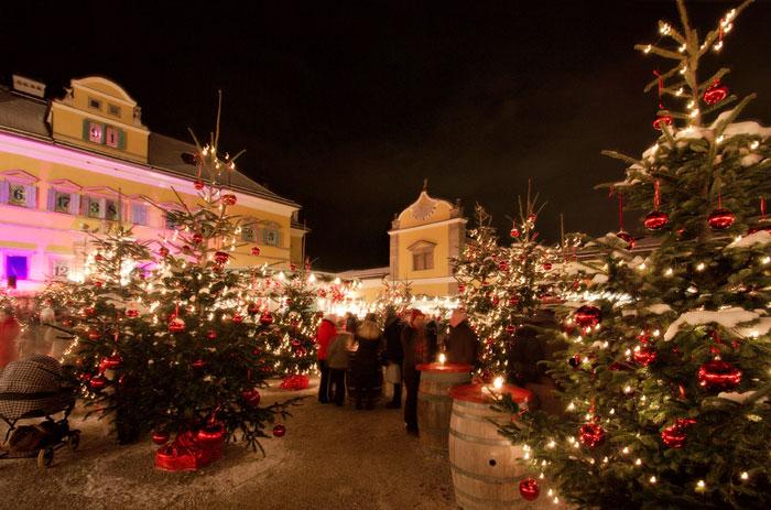 Schloss Hellbrunn Weihnachtsmarkt.Salzburg Im Advent Das Grüne Hotel Zur Post 100 Bio Das